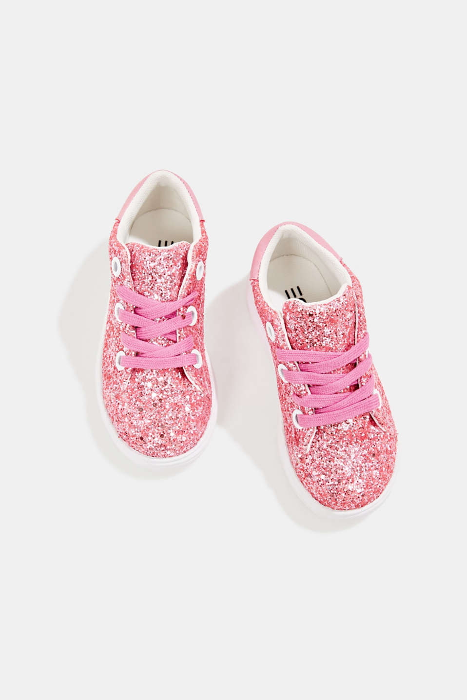 Glitter trainers, PINK, detail image number 1