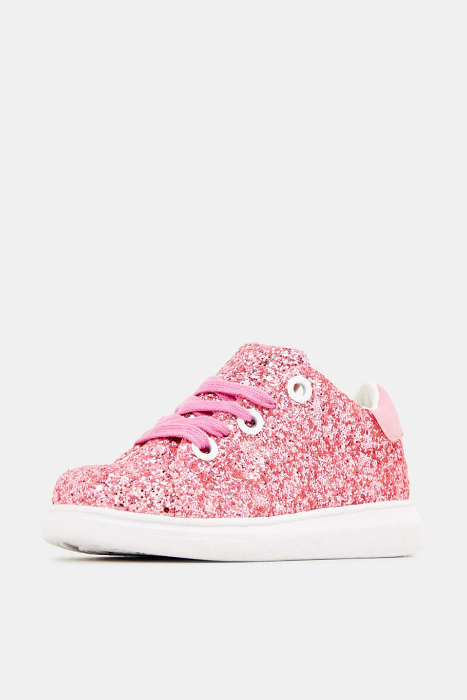 Glitter trainers, PINK, detail image number 2