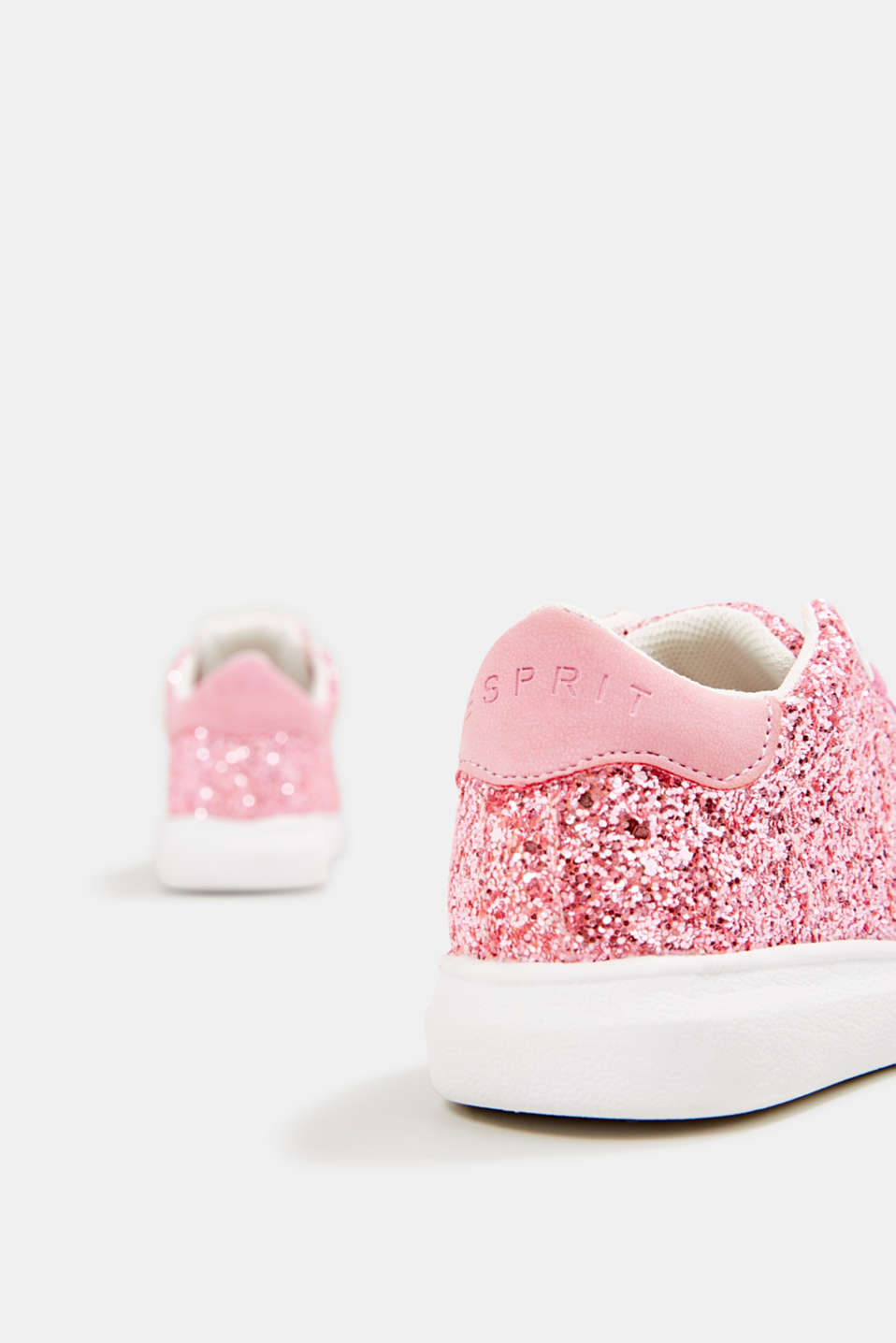Glitter trainers, PINK, detail image number 4