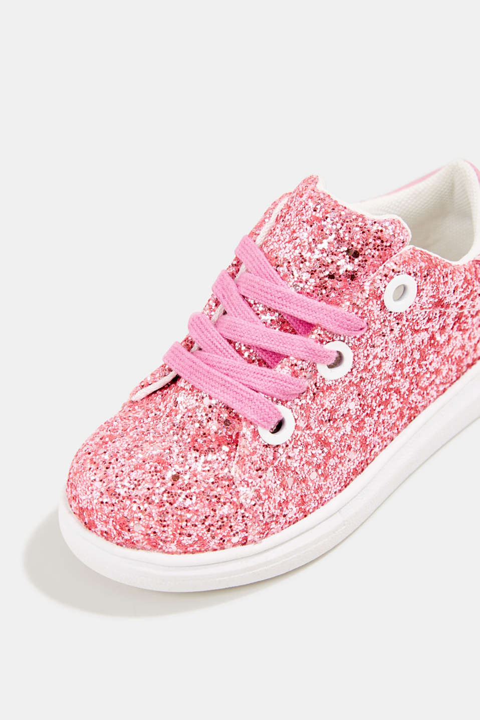 Glitter trainers, PINK, detail image number 3