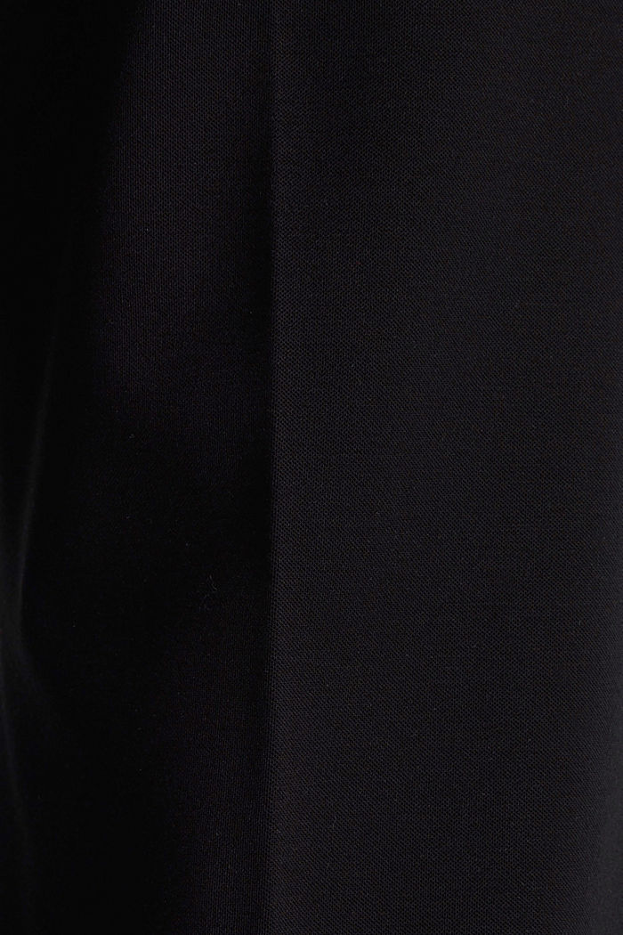 Stretch jersey culottes, BLACK, detail image number 4