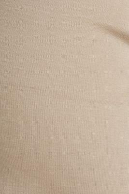 Stretch jersey culottes, BEIGE, detail