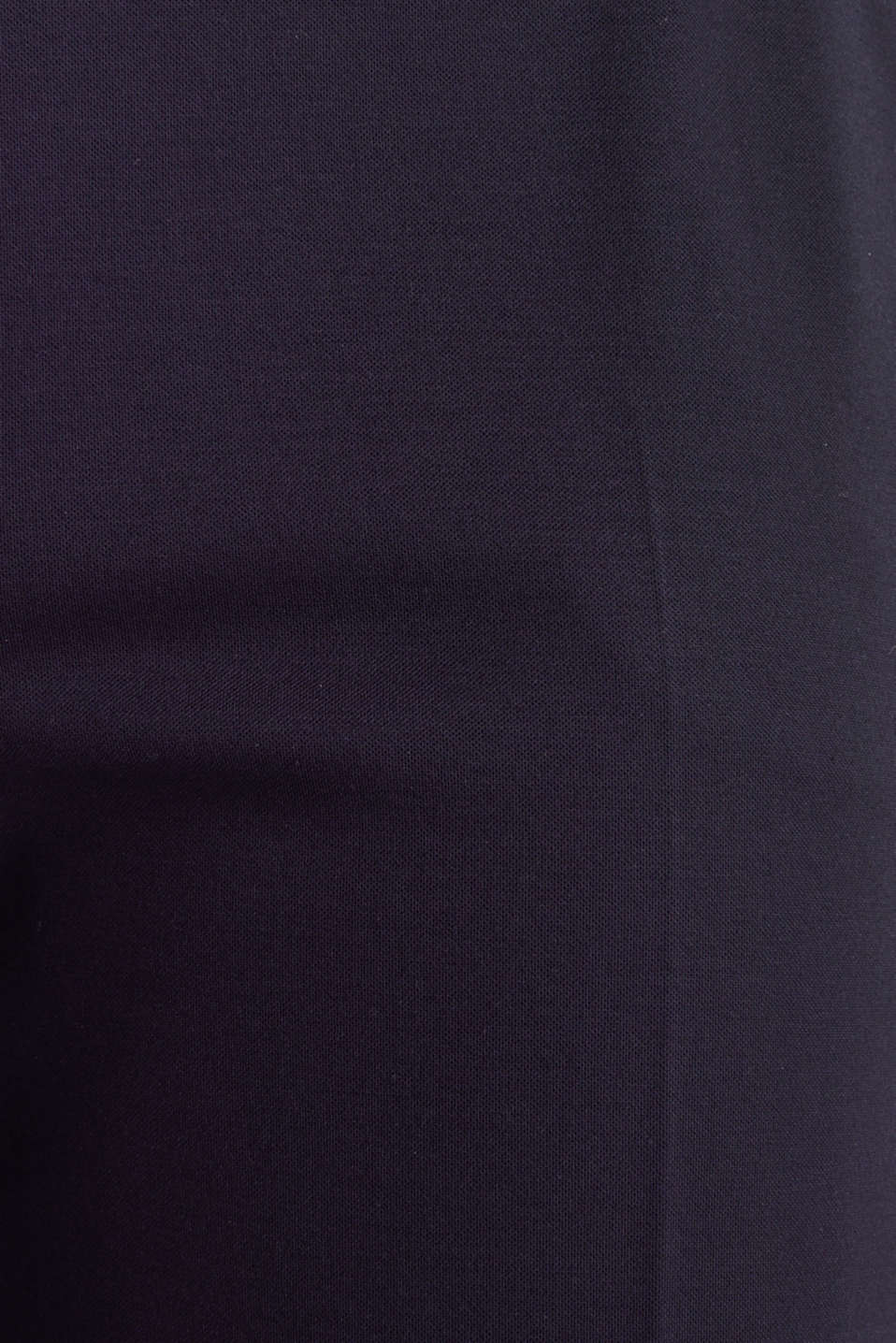 Stretch jersey culottes, NAVY, detail image number 4