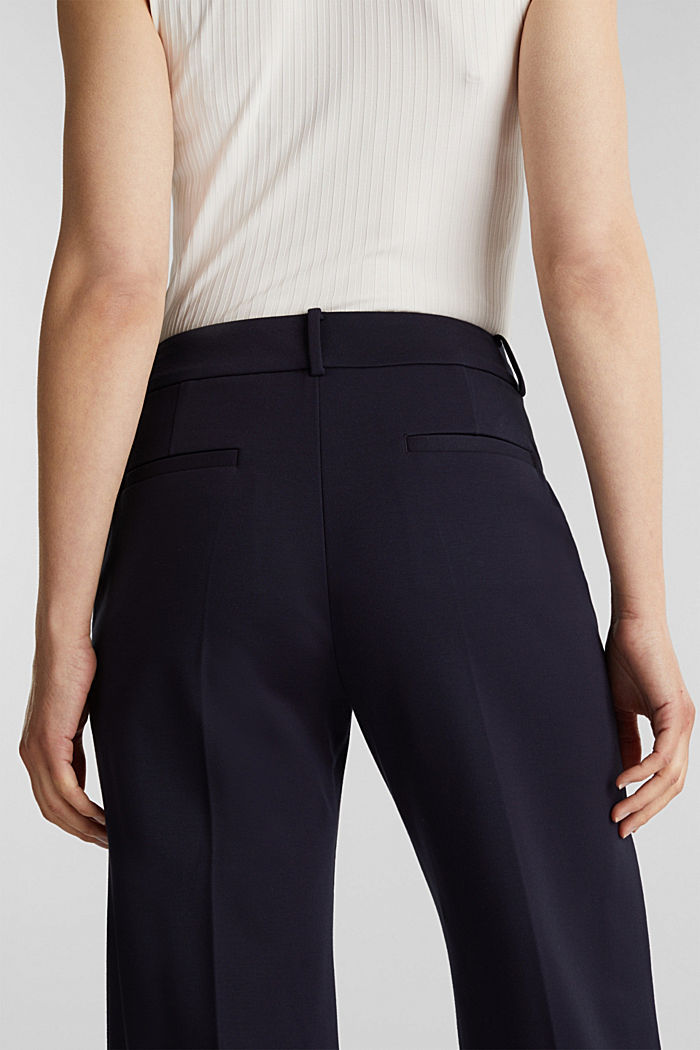 Culotte aus Jersey-Stretch, NAVY, detail image number 5