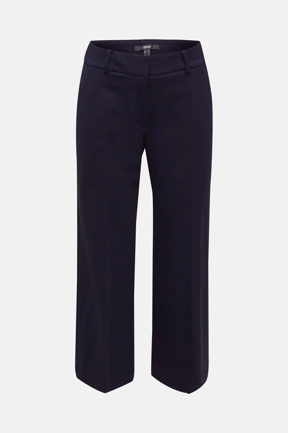 Stretch jersey culottes, NAVY, detail image number 7