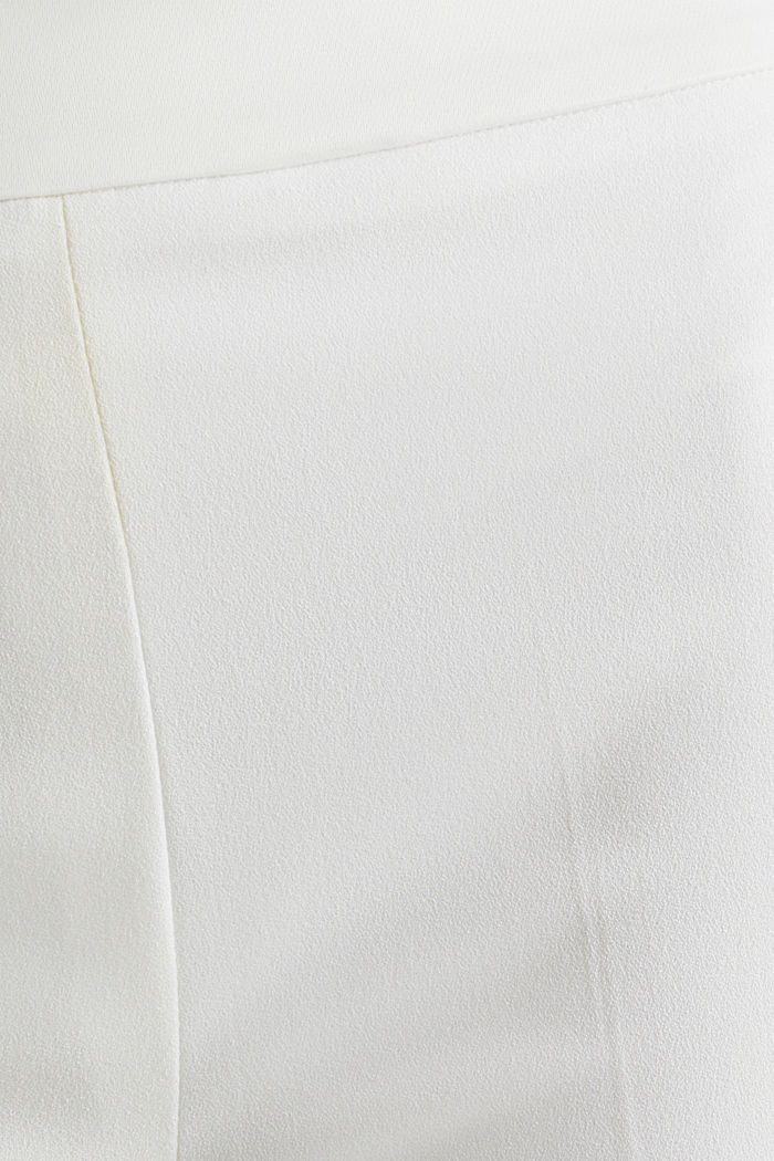 WEDDING mix + match crêpe trousers, WHITE, detail image number 4
