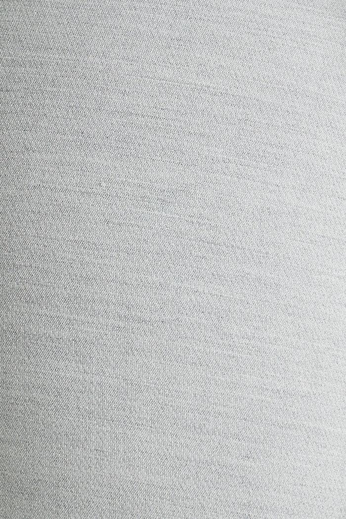 JERSEY Mix + Match Hose, LIGHT GREY, detail image number 4