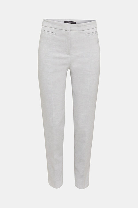 JERSEY mix + match ankle-length trousers