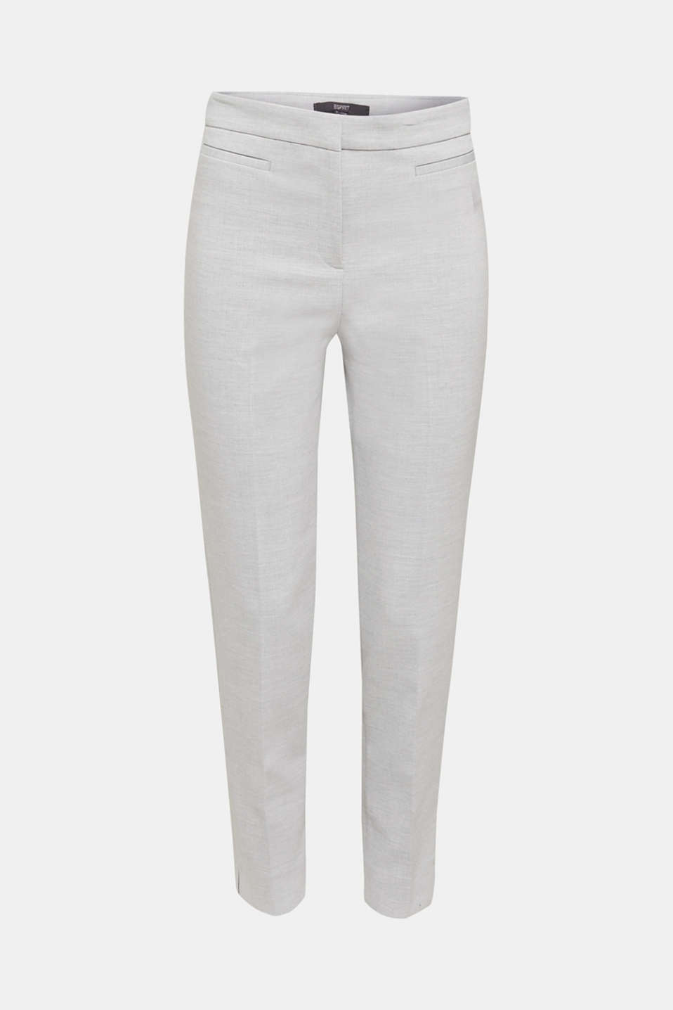 JERSEY mix + match trousers, LIGHT GREY 5, detail image number 6