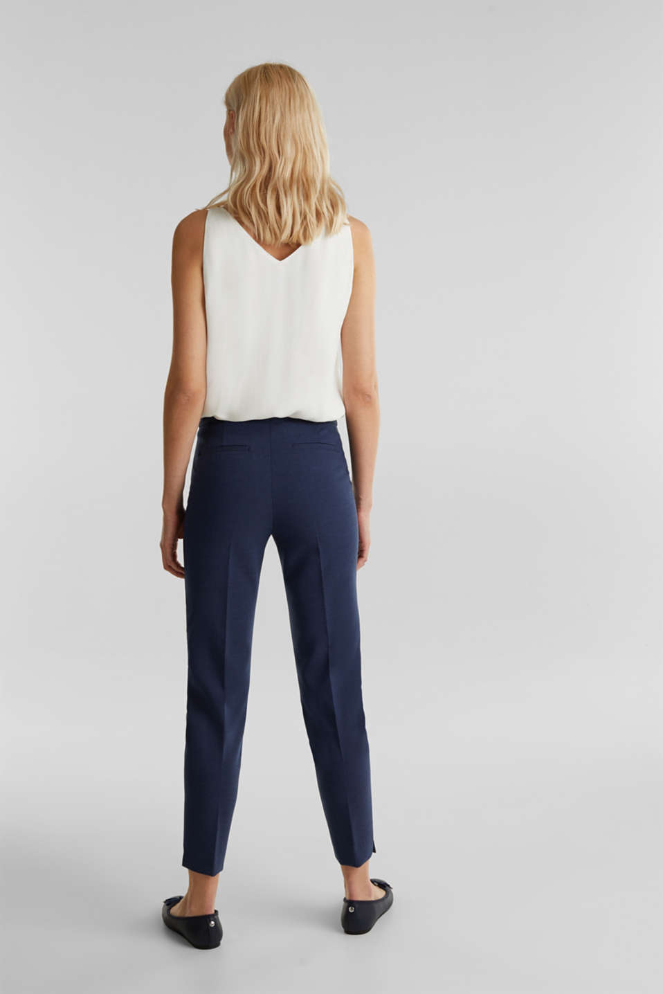 JERSEY mix + match trousers, GREY BLUE 5, detail image number 3