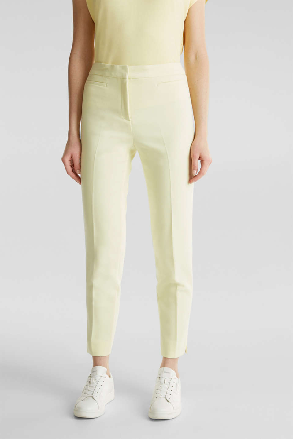 JERSEY mix + match trousers, LIME YELLOW, detail image number 0