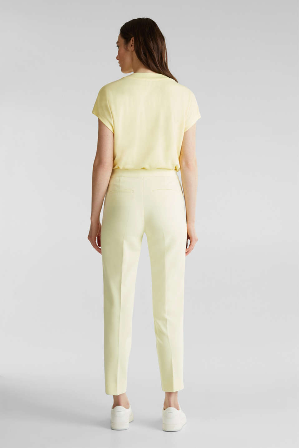 JERSEY mix + match trousers, LIME YELLOW, detail image number 3