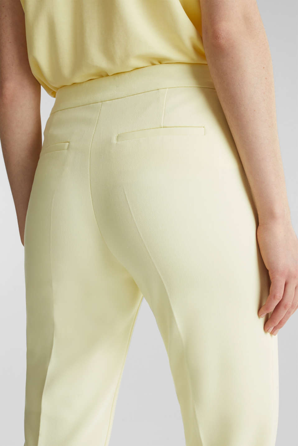 JERSEY mix + match trousers, LIME YELLOW, detail image number 5