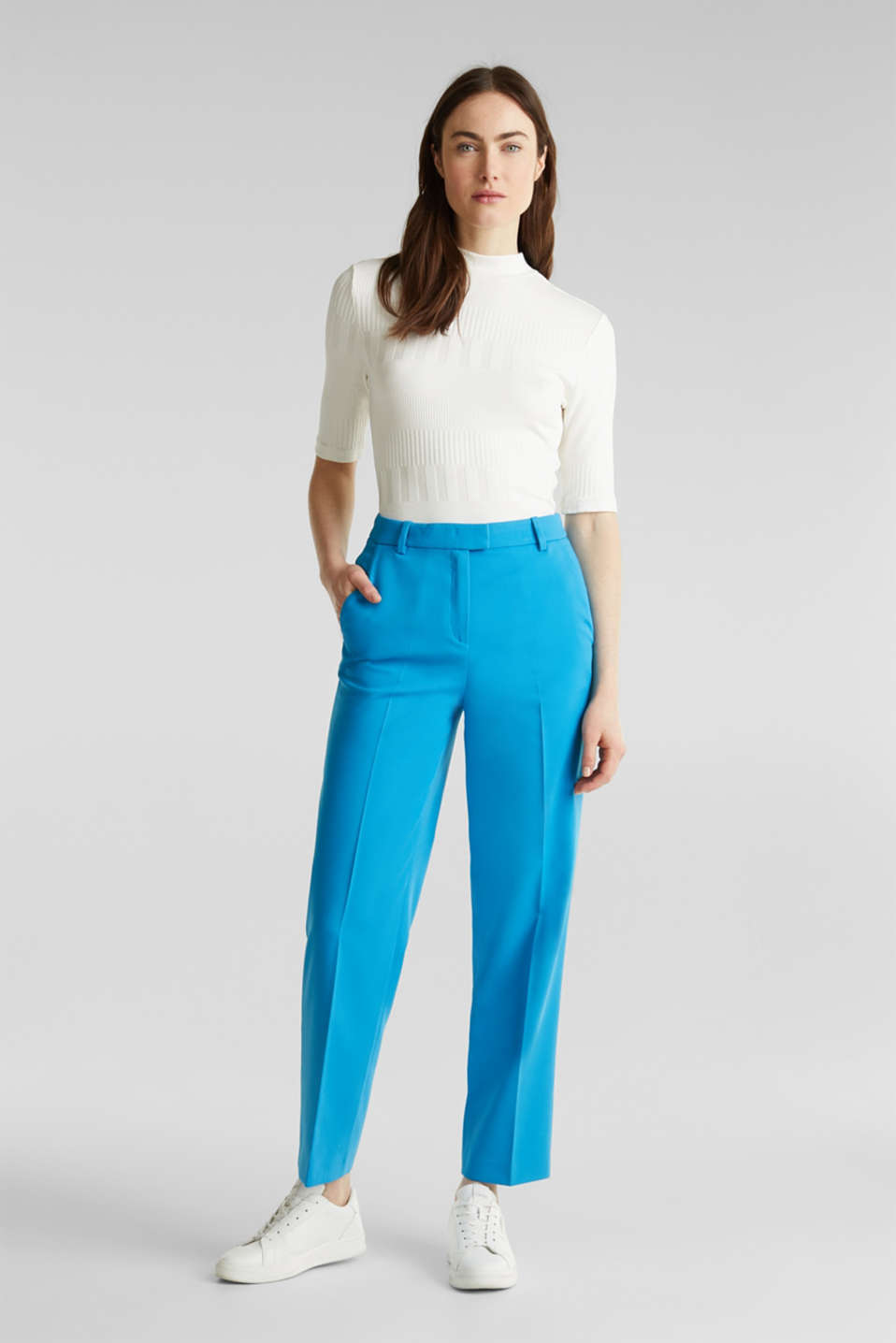 Esprit - SHIMMER mix + match stretch trousers