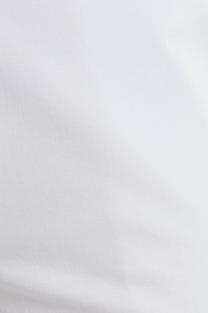 Business-Chino mit Gürtel, WHITE, detail image number 4