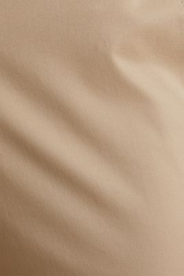 Business chinos with a belt, BEIGE, detail