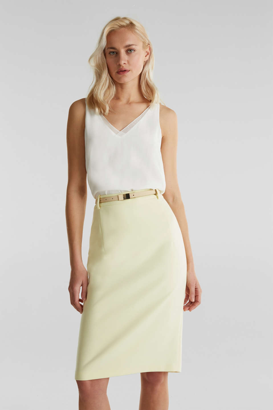 Esprit - SUMMER BIZ Mix + Match stretch skirt