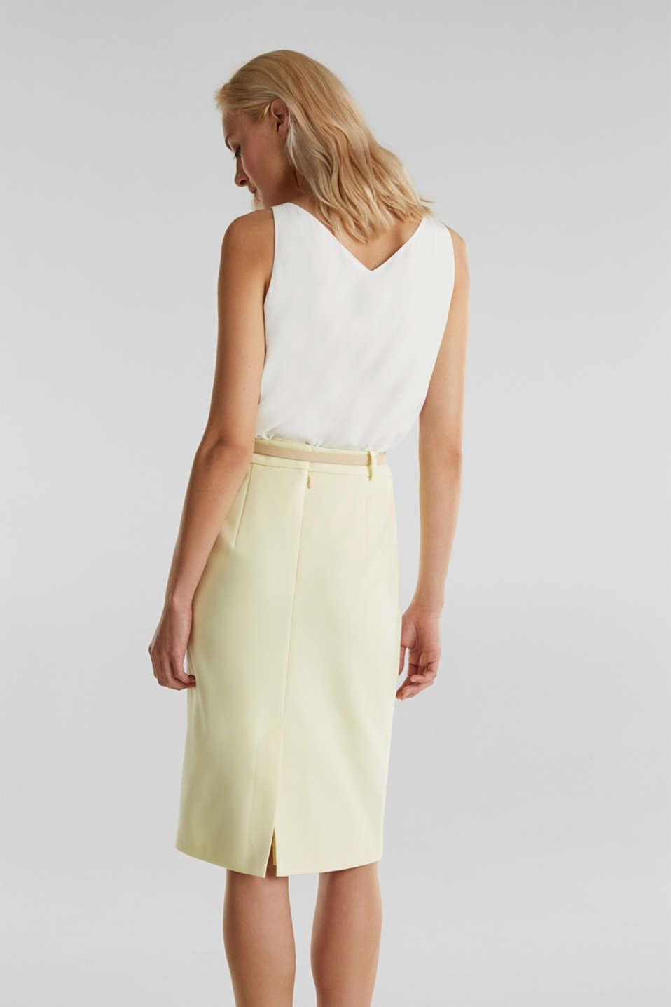 SUMMER BIZ mix + match skirt, LIME YELLOW, detail image number 3