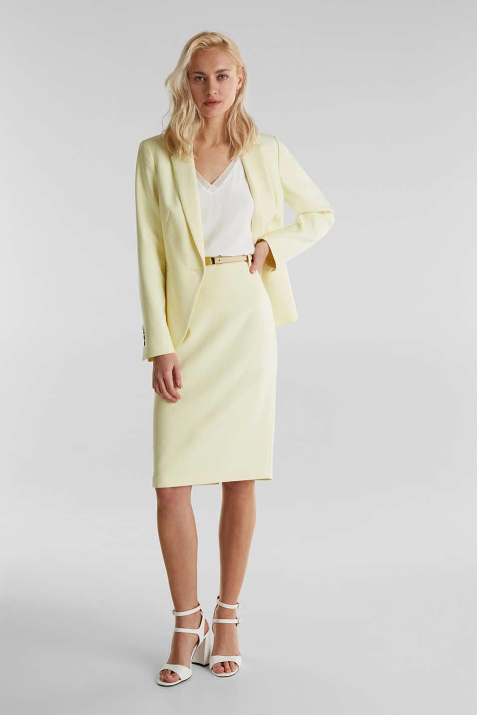 SUMMER BIZ mix + match skirt, LIME YELLOW, detail image number 1