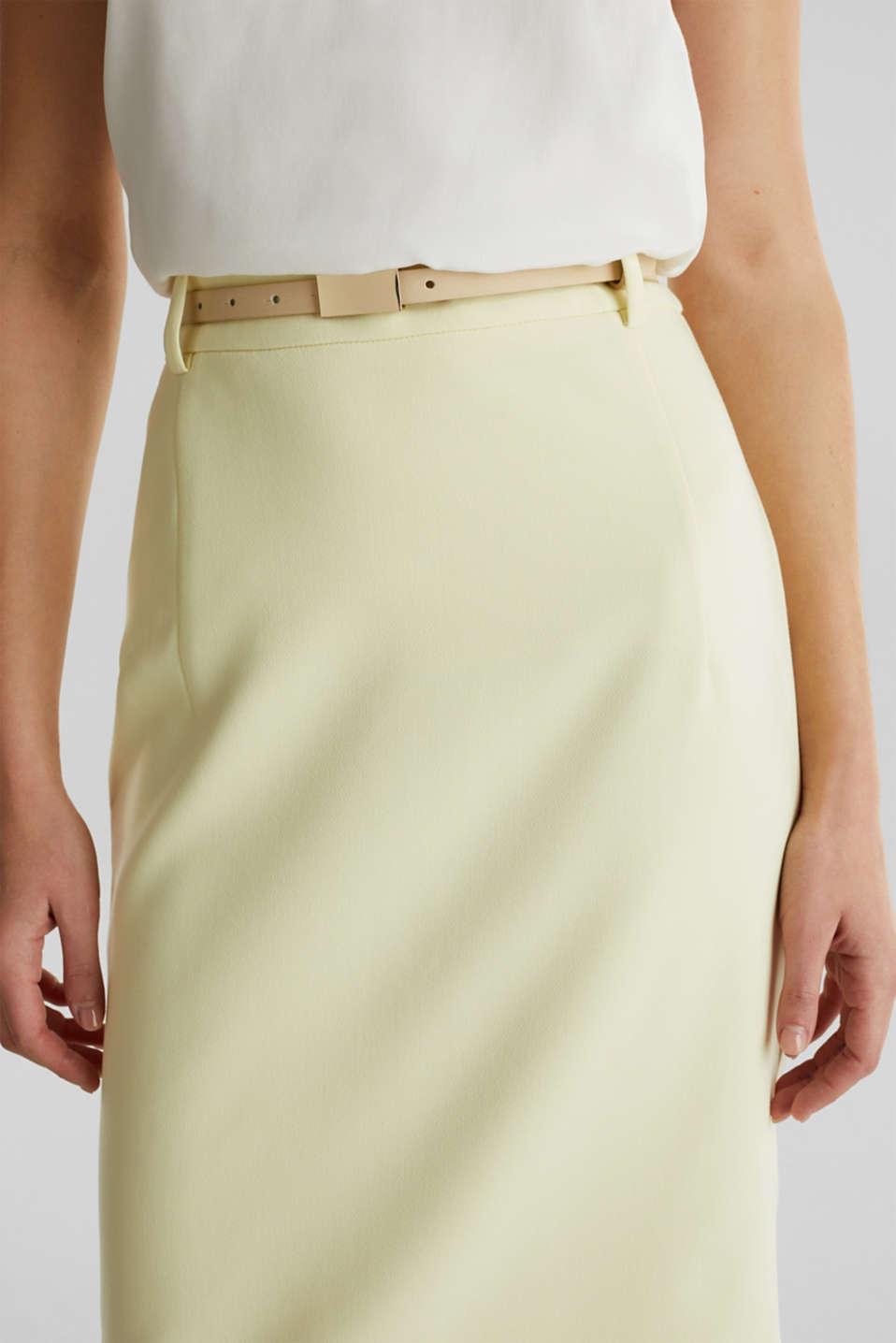 SUMMER BIZ mix + match skirt, LIME YELLOW, detail image number 2