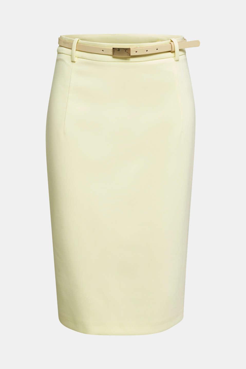 SUMMER BIZ mix + match skirt, LIME YELLOW, detail image number 7