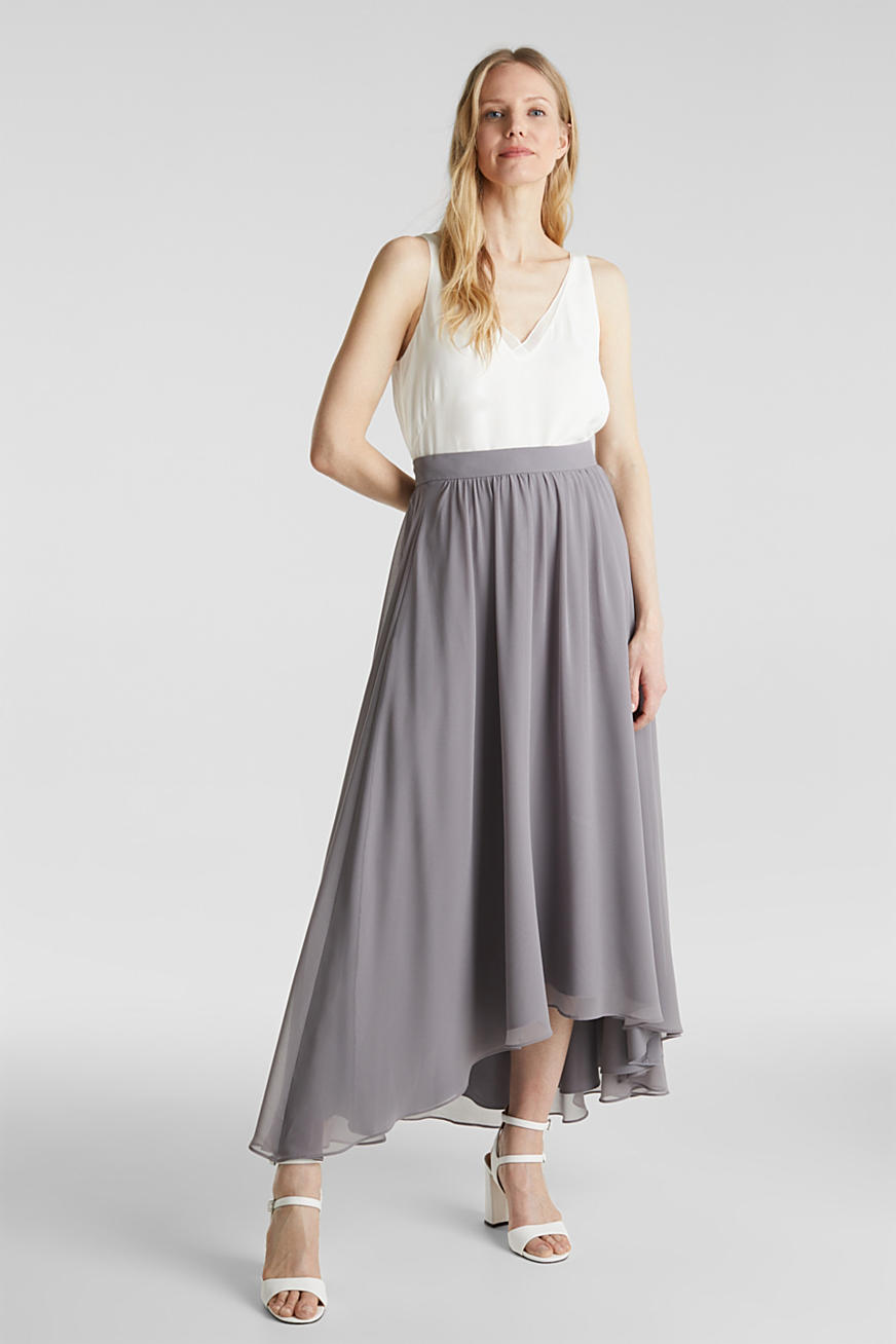 Gonna maxi in chiffon