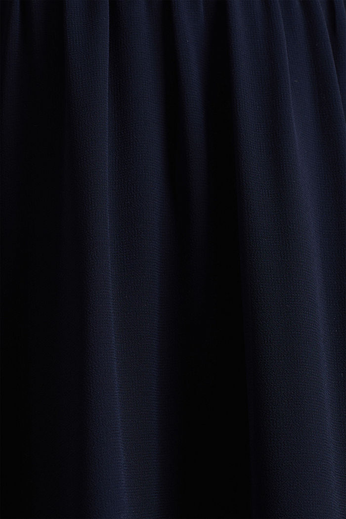 Maxi-Rock aus Chiffon, NAVY, detail image number 1