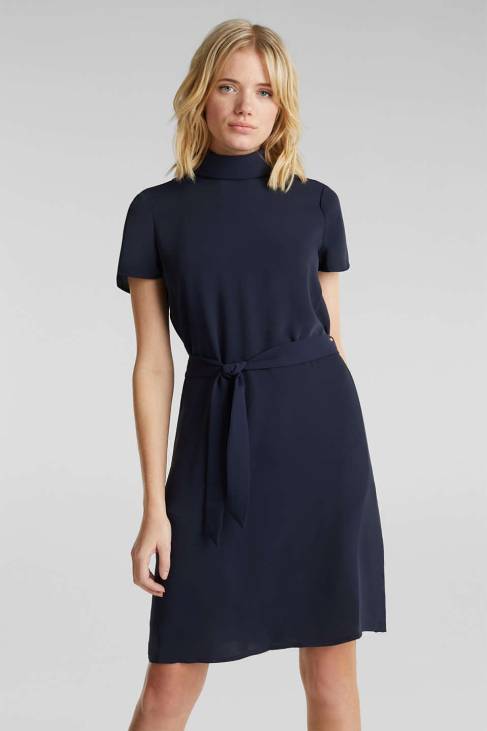 Esprit - Cloth polo neck dress