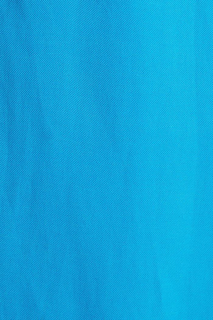 Con lino: abito con cintura da annodare, DARK TURQUOISE, detail image number 3