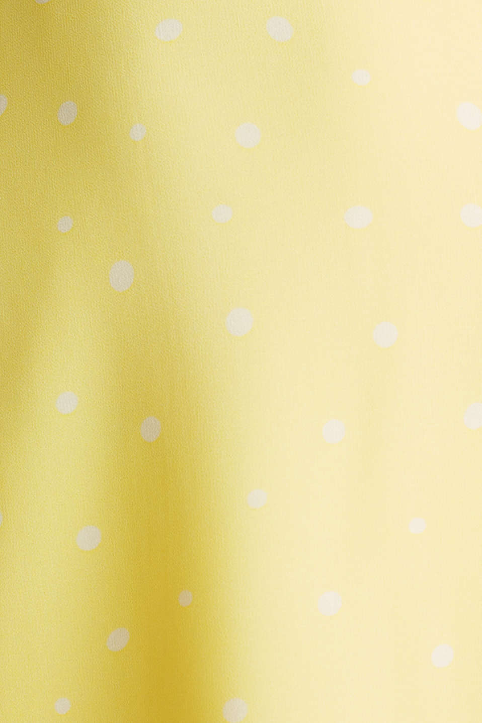 Chiffon dress with a high-low hem, LIME YELLOW, detail image number 4