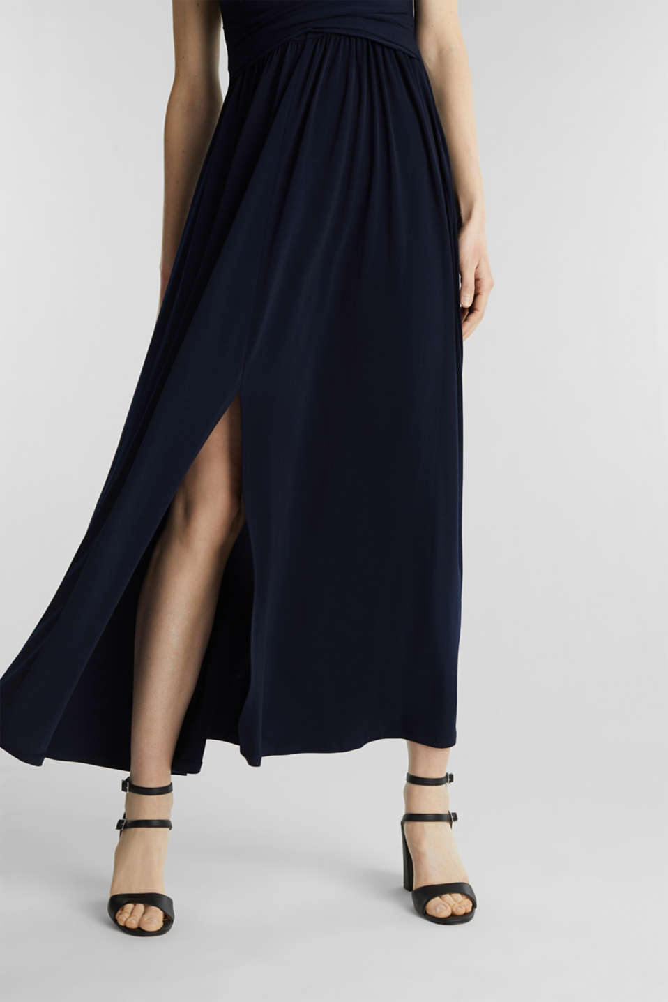 Maxi dress with wrap details, NAVY, detail image number 3