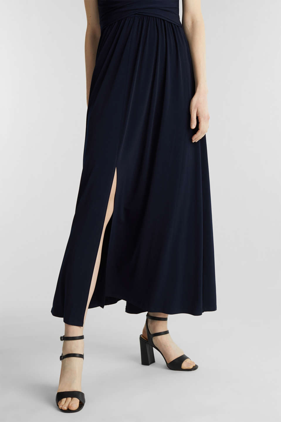 Maxi dress with wrap details, NAVY, detail image number 5