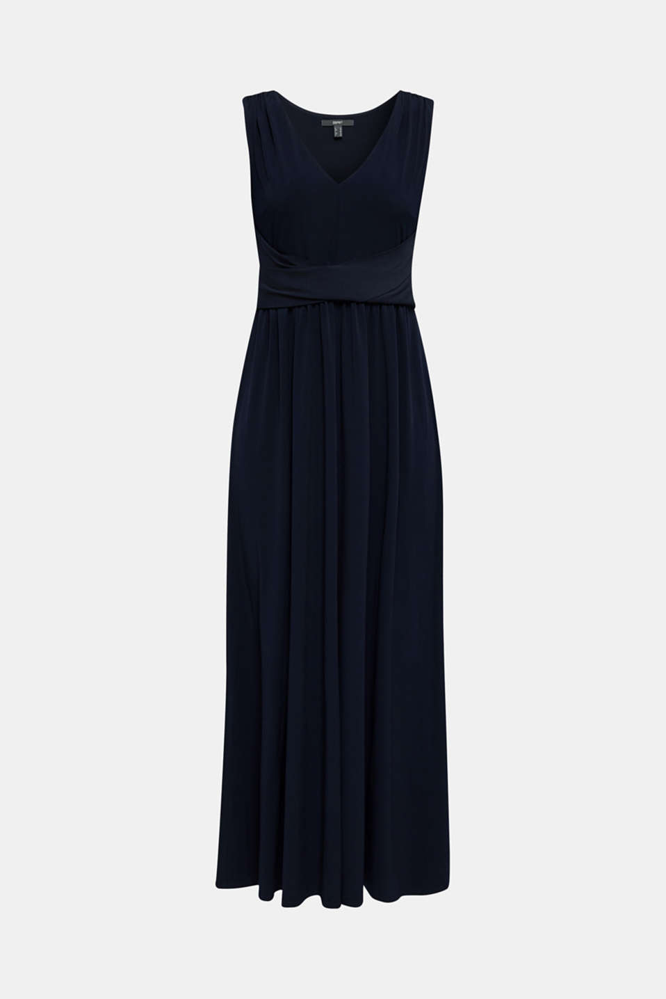 Maxi dress with wrap details, NAVY, detail image number 7