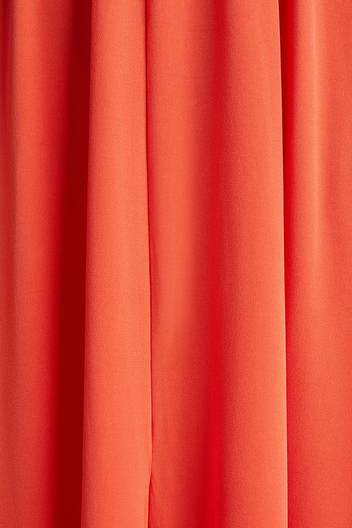 Maxi dress with wrap details, RED ORANGE, detail image number 4