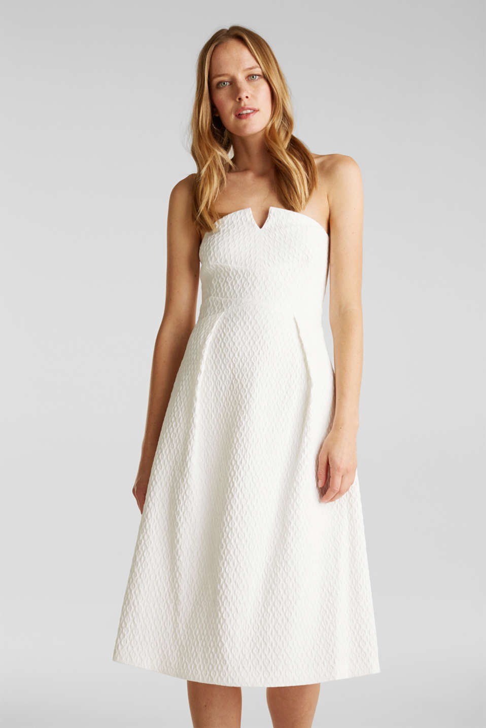 Esprit - Dress with detachable straps