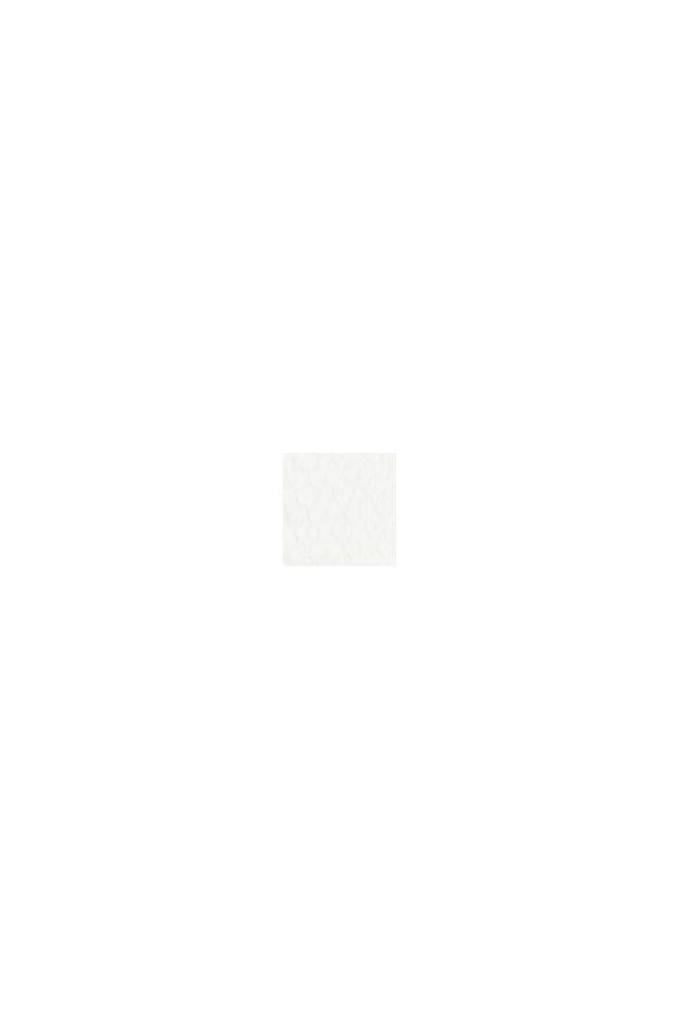 Kleid mit abnehmbaren Trägern, OFF WHITE, swatch