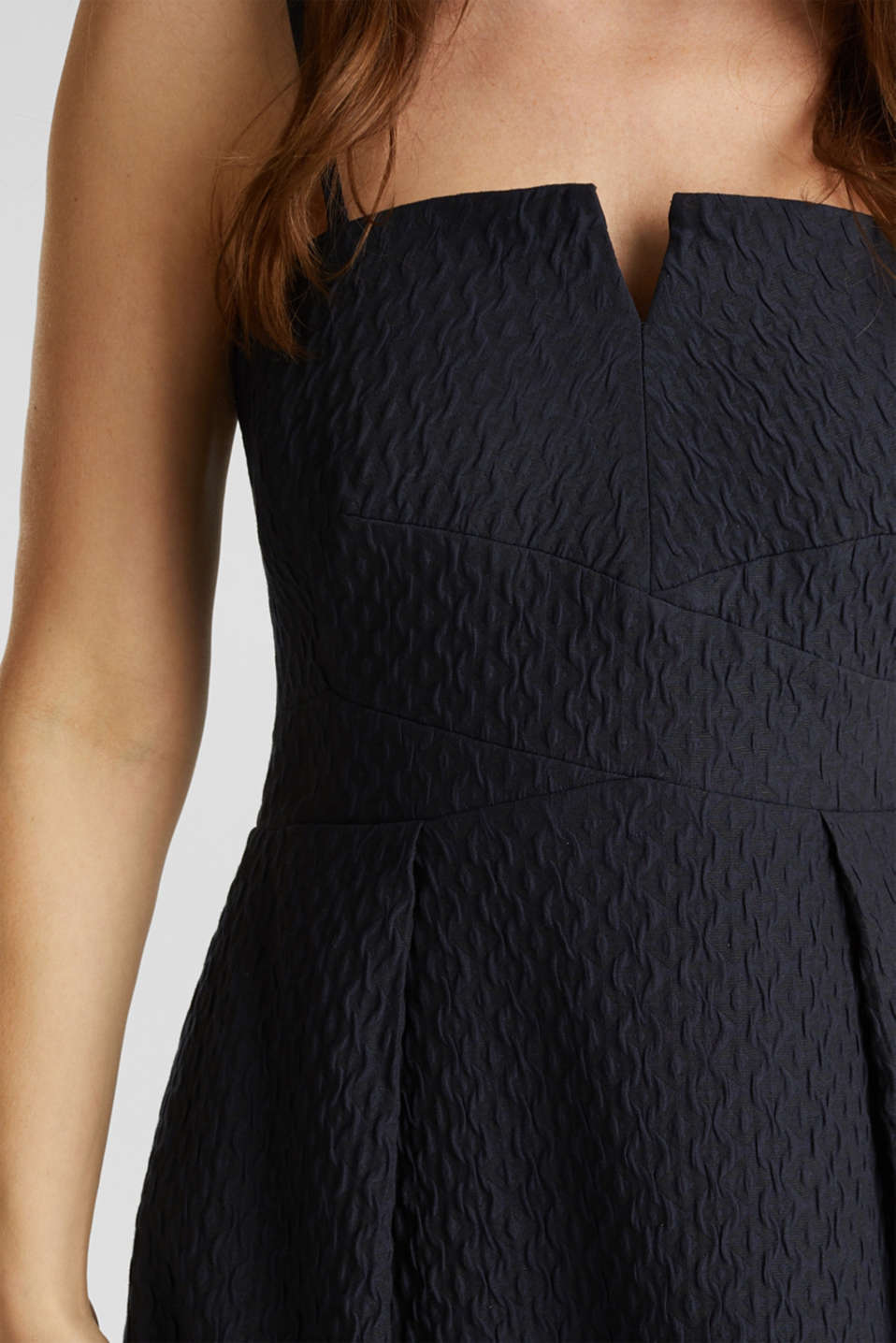 Dress with detachable straps, NAVY, detail image number 1