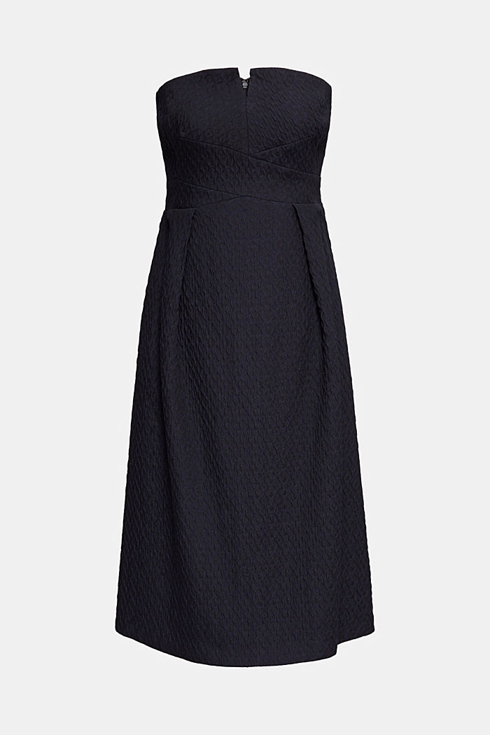 Dress with detachable straps, NAVY, detail image number 4