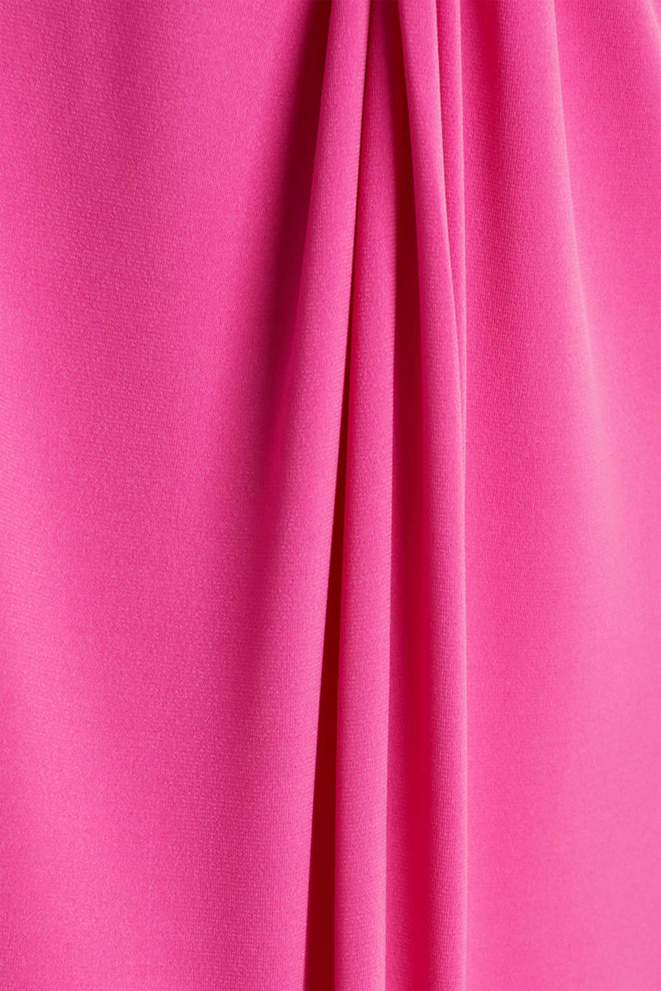 Stretch jersey dress with a draped effect, PINK, detail image number 4
