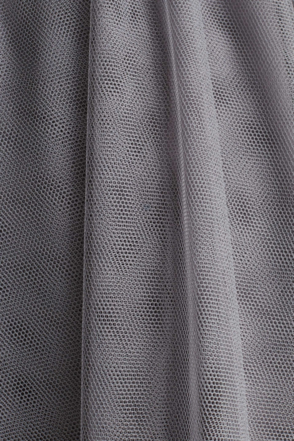 Tulle dress with sequins, GREY, detail image number 3