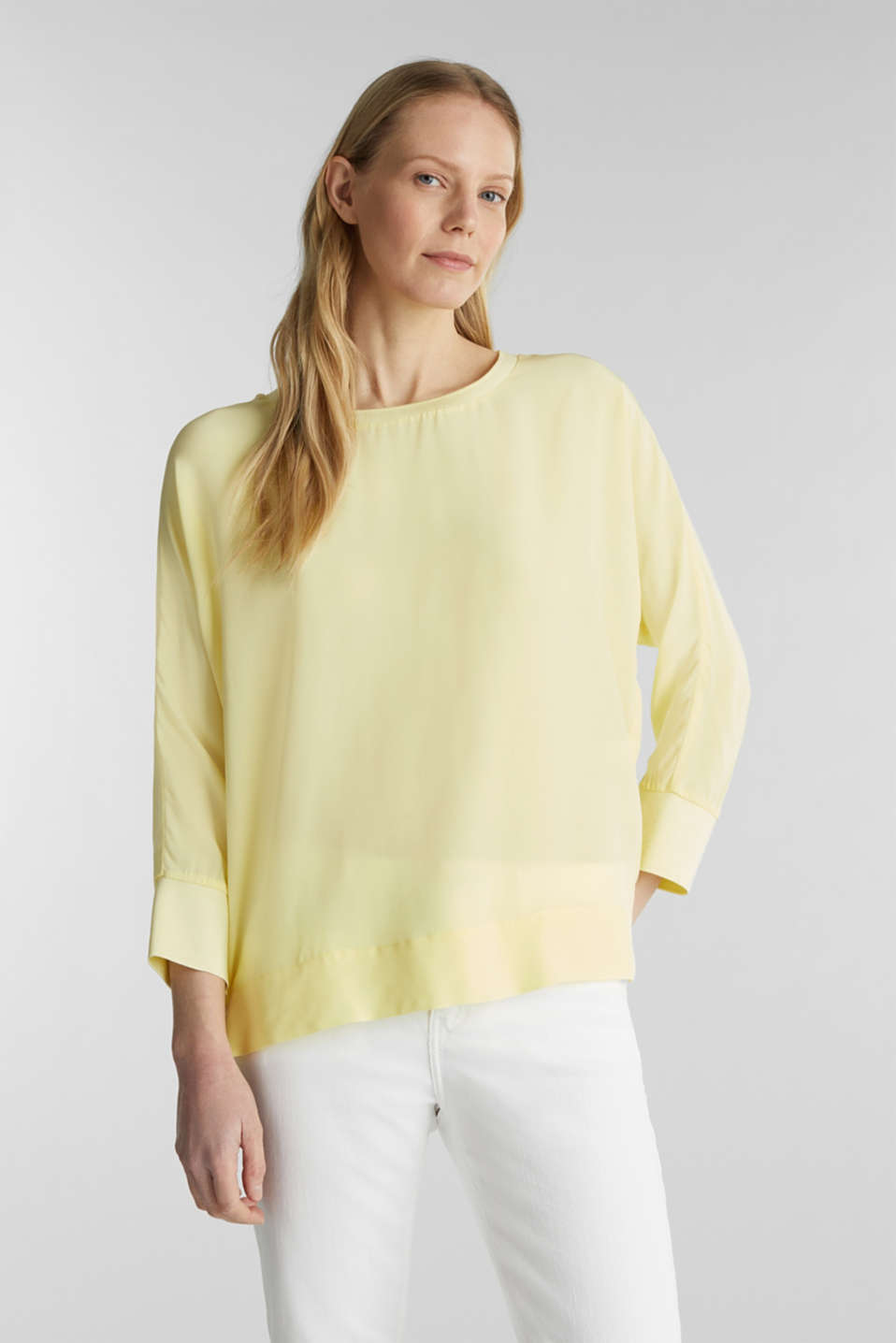 Esprit - Batwing top made of LENZING™ ECOVERO™