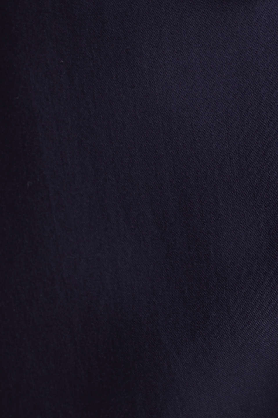 Wrap blouse with a shirt collar, NAVY, detail image number 4