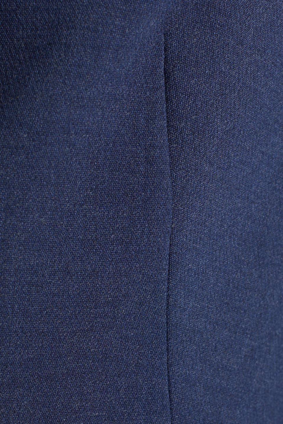 SUMMER BIZ mix + match blazer, GREY BLUE 5, detail image number 4
