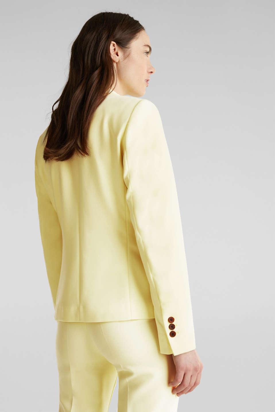 SUMMER BIZ mix + match blazer, LIME YELLOW, detail image number 3