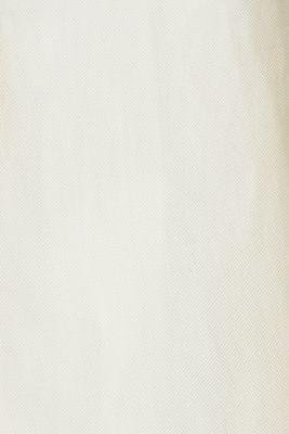 Linen blend: fitted 1-button blazer, SAND, detail