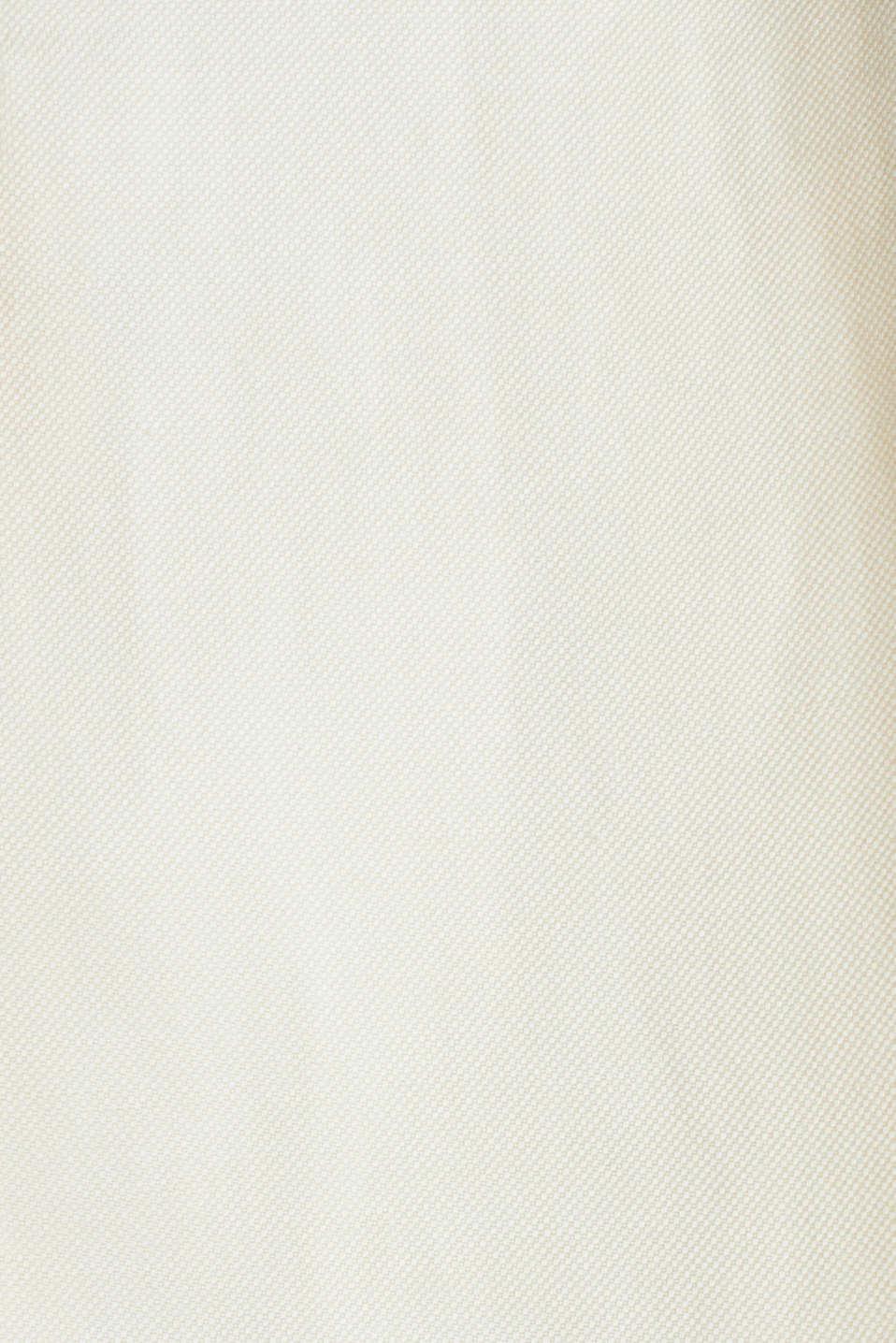 Linen blend: fitted 1-button blazer, SAND, detail image number 4
