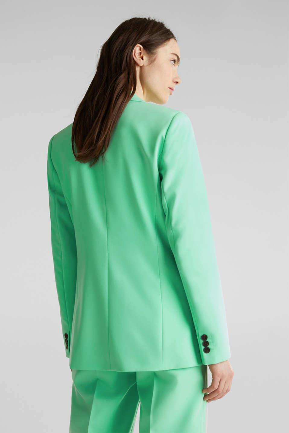 SHIMMER mix + match stretch blazer, LIGHT GREEN, detail image number 3