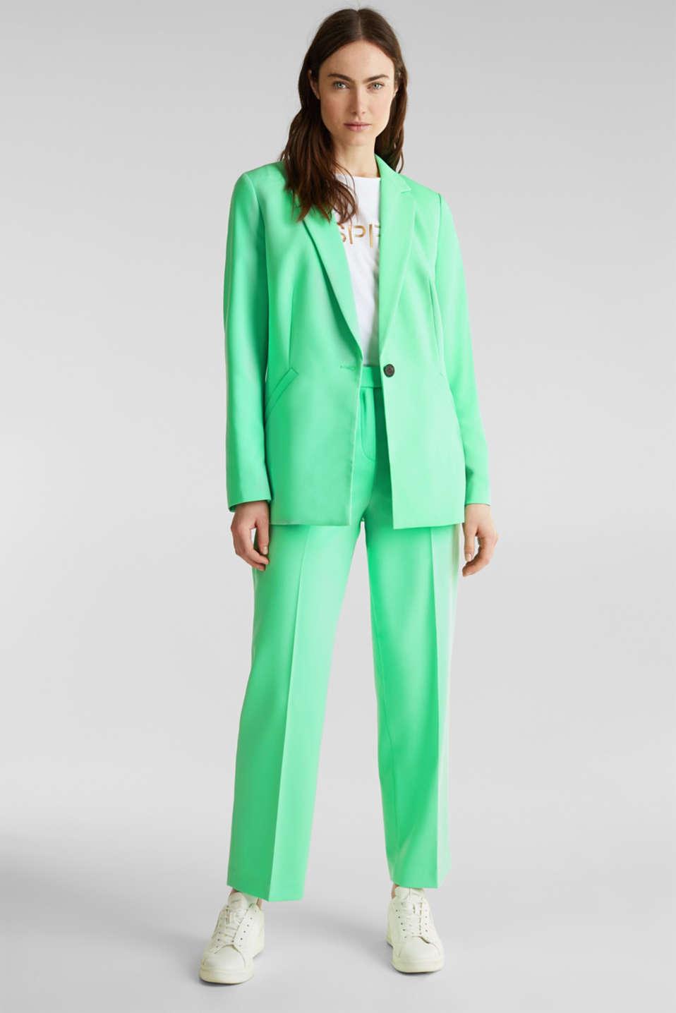 SHIMMER mix + match stretch blazer, LIGHT GREEN, detail image number 6