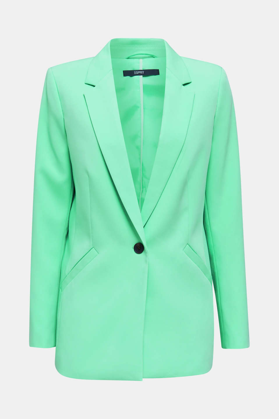 SHIMMER mix + match stretch blazer, LIGHT GREEN, detail image number 8
