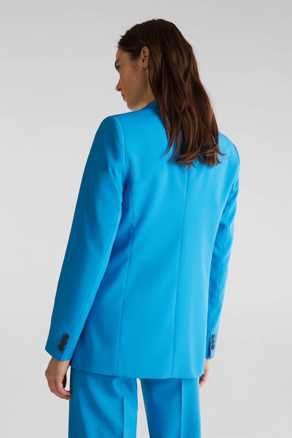 SHIMMER mix + match stretch blazer, DARK TURQUOISE, detail image number 3